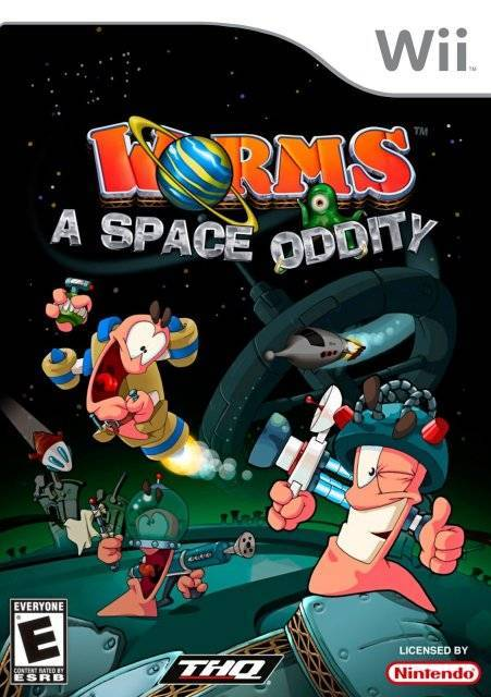 Worms A Space Oddity - Wii