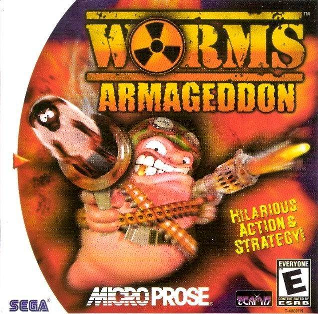 Worms Armageddon - Sega Dreamcast