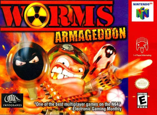 Worms Armageddon - Nintendo 64