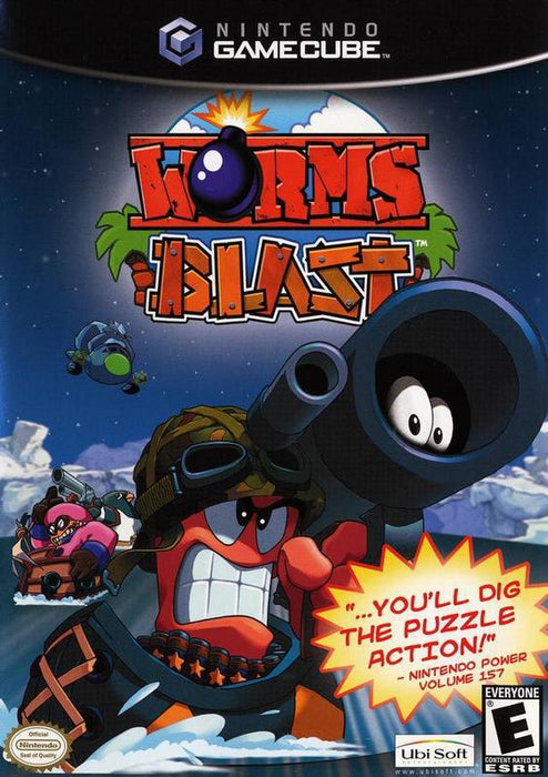 Worms Blast - Gamecube