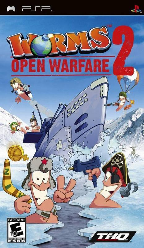 Worms Open Warfare 2 - PlayStation Portable