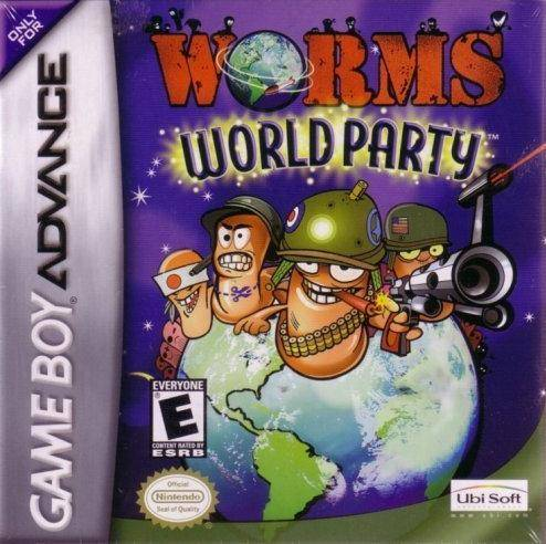 Worms World Party - Game Boy Advance