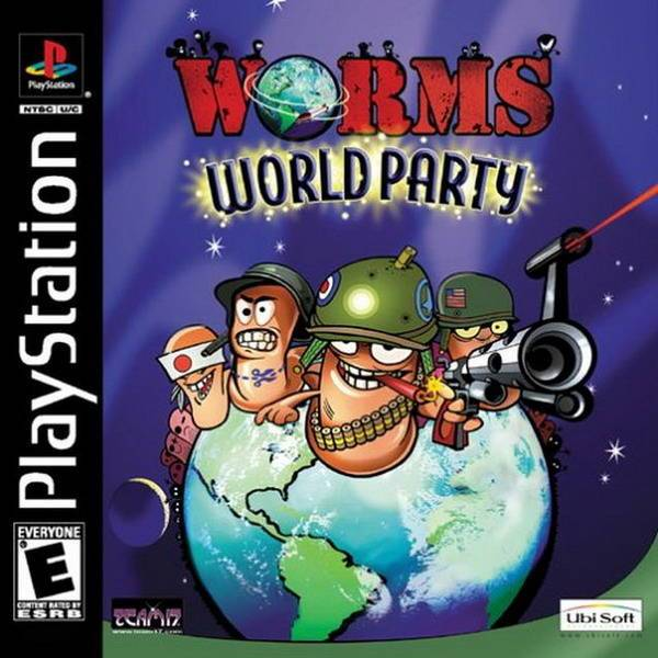 Worms World Party - PlayStation 1