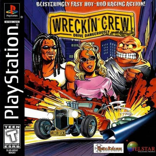 Wreckin Crew - PlayStation 1