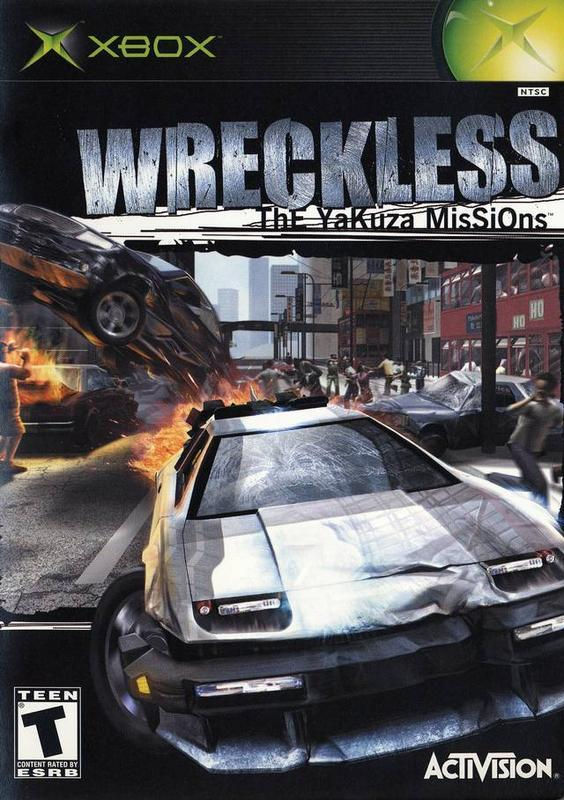 Wreckless The Yakuza Missions - Xbox