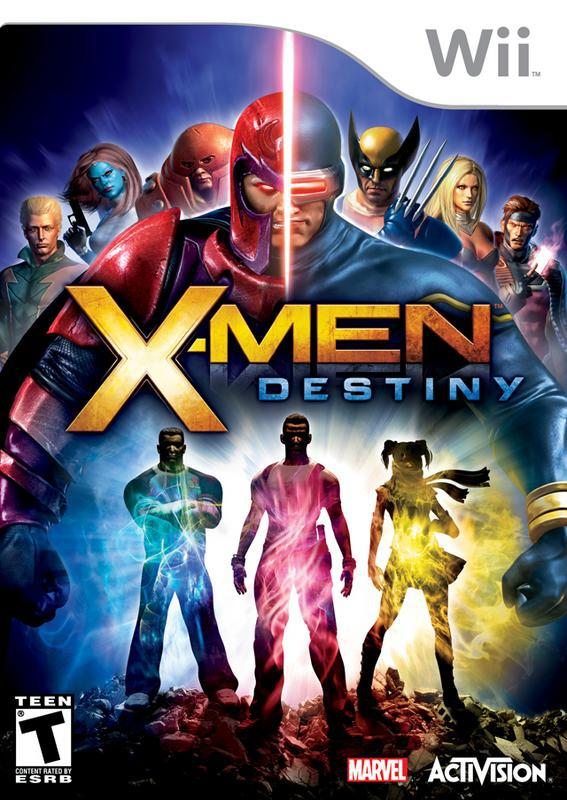 X-Men Destiny - Wii