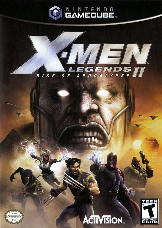 X-Men Legends II Rise of Apocalypse - Gamecube