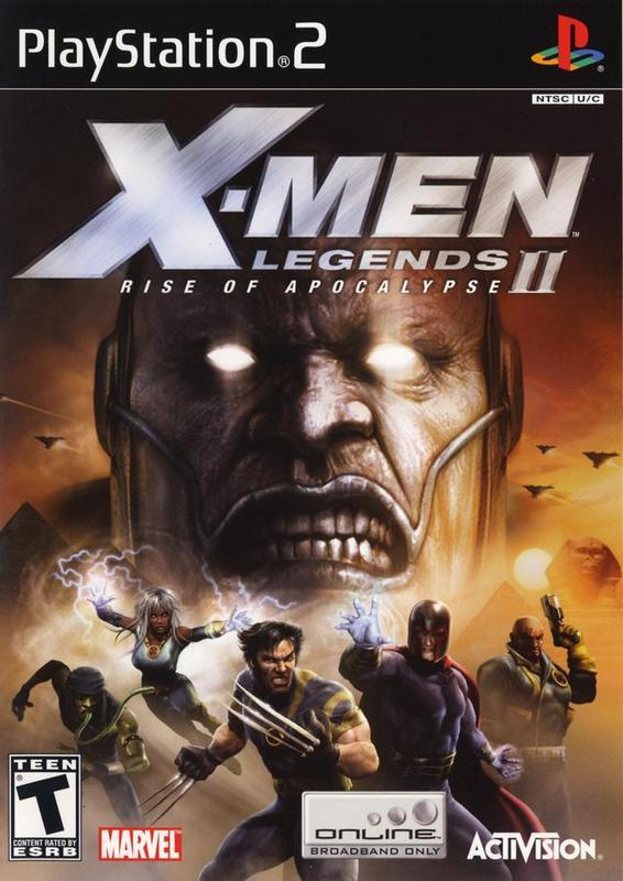 X-Men Legends II Rise of Apocalypse - PlayStation 2