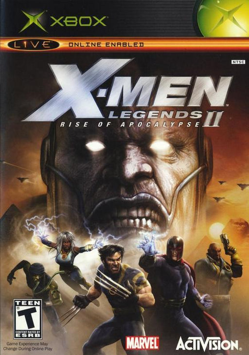 X-Men Legends II Rise of Apocalypse - Xbox