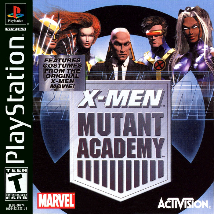 X-Men Mutant Academy - PlayStation 1