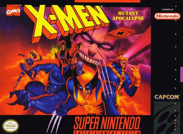 X-Men Mutant Apocalypse - Super Nintendo Entertainment System