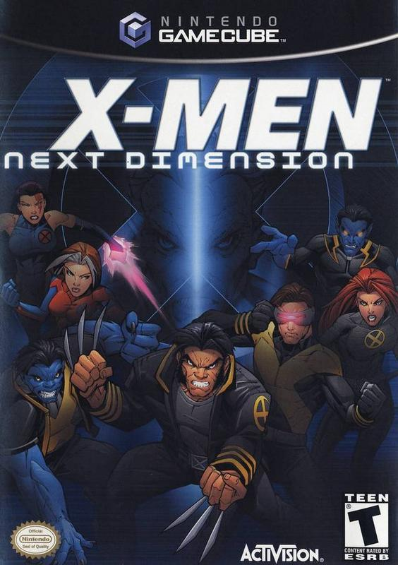 X-Men Next Dimension - Gamecube