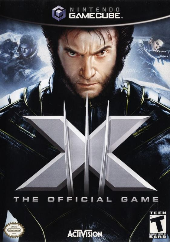 X-Men The Official Game - Gamecube