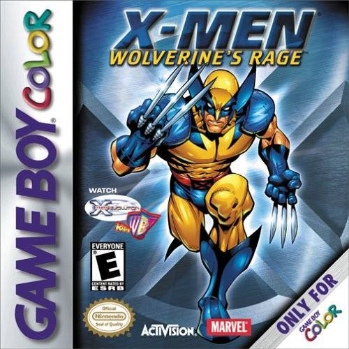 X-Men Wolverines Rage - Game Boy Color