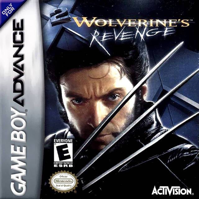 X2 Wolverines Revenge - Game Boy Advance