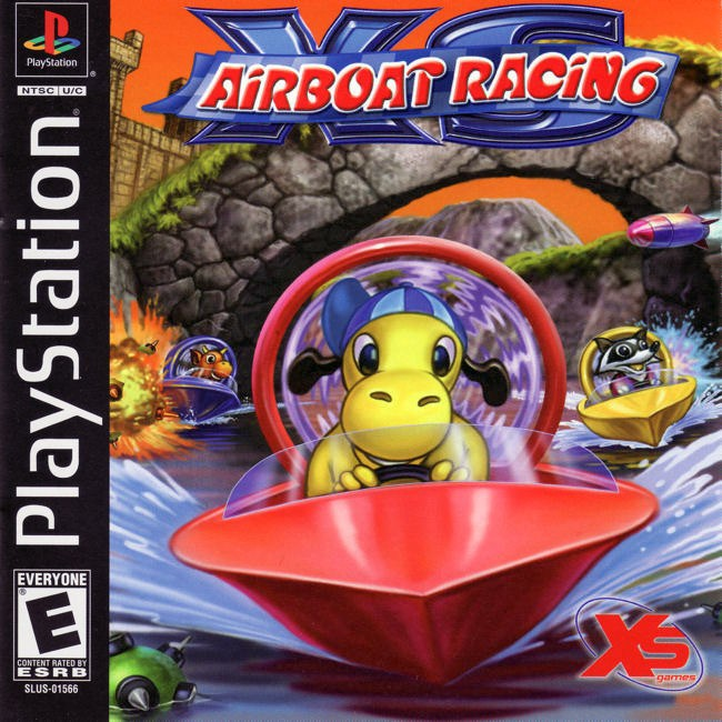 XS Airboat Racing - PlayStation 1