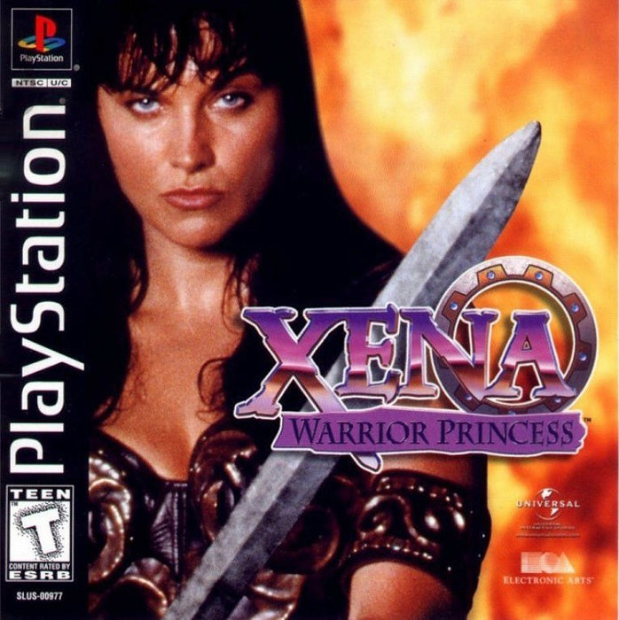 Xena Warrior Princess - PlayStation 1