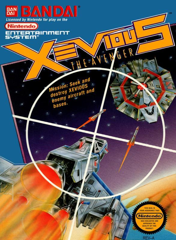 Xevious - Nintendo Entertainment System