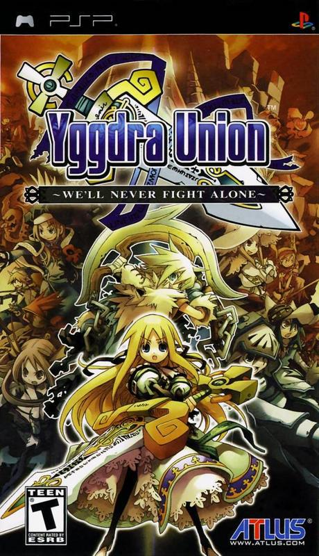 Yggdra Union - PlayStation Portable