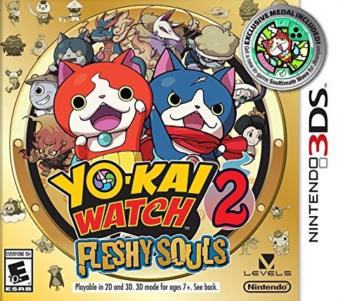 Yo-kai Watch 2 Fleshy Souls - Nintendo 3DS