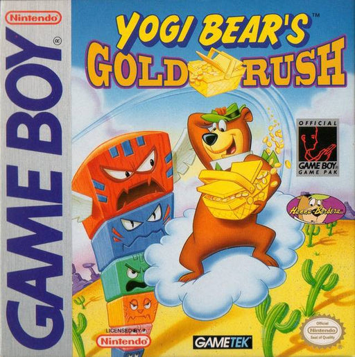Yogi Bears Gold Rush - Game Boy