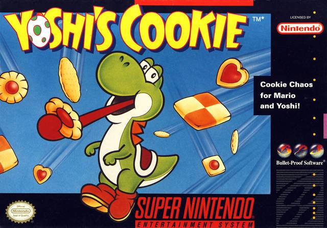 Yoshis Cookie - Super Nintendo Entertainment System