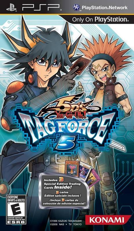 Yu-Gi-Oh! 5Ds Tag Force 5