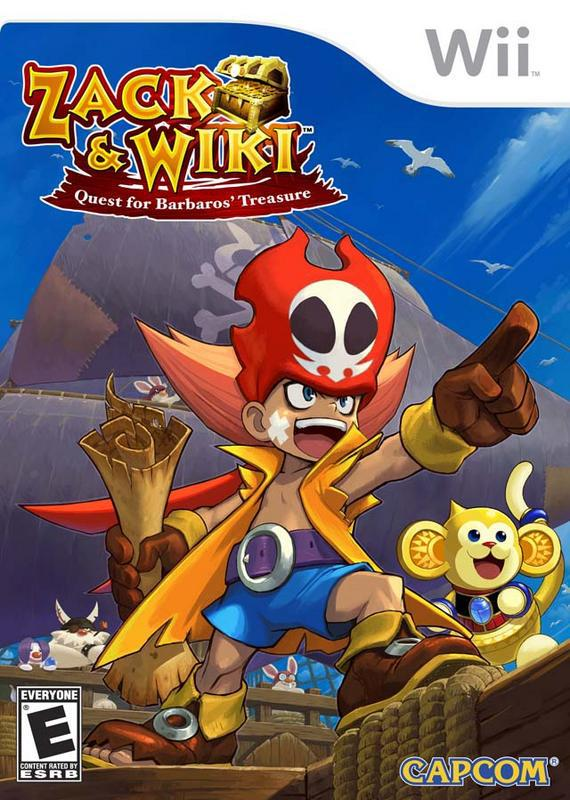 Zack & Wiki Quest for Barbaros Treasure - Wii