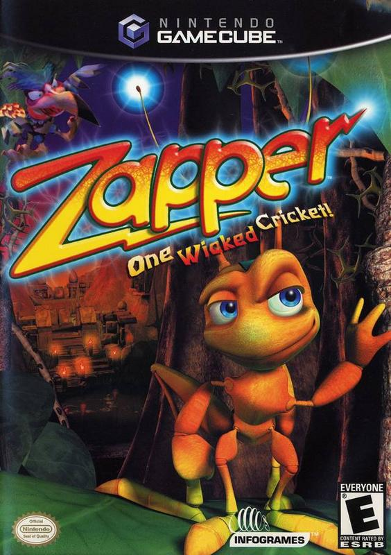Zapper One Wicked Cricket - Gamecube