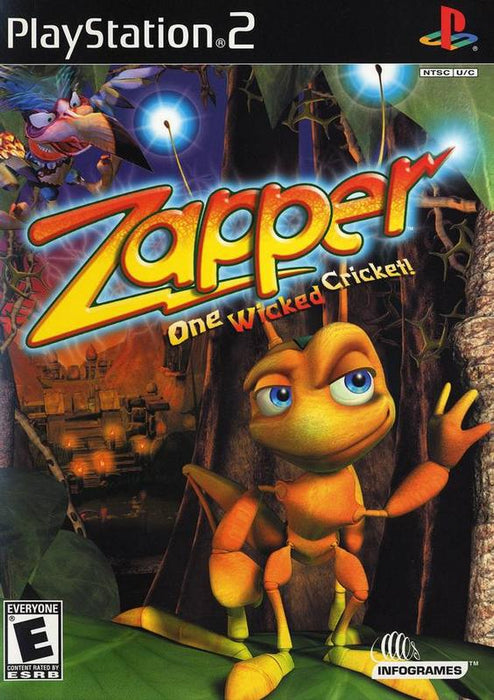 Zapper One Wicked Cricket - PlayStation 2