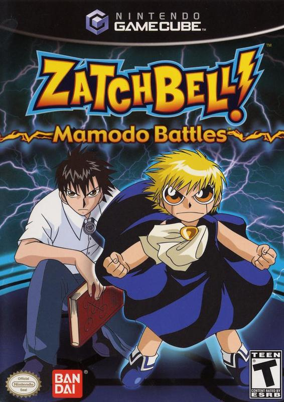 Zatch Bell! Mamodo Battles - Gamecube