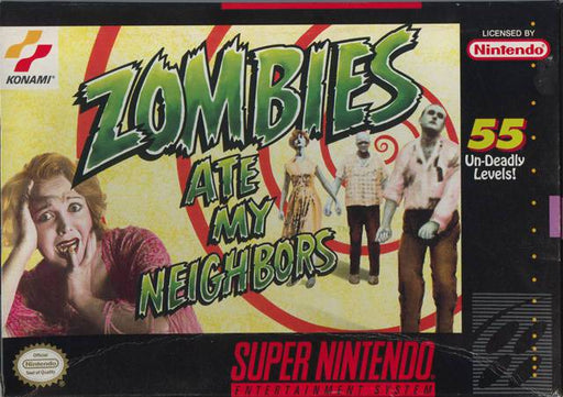 Zombies Ate My Neighbors - Super Nintendo Entertainment System