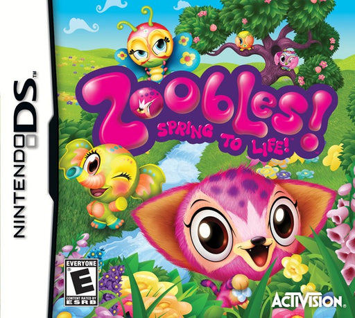 Zoobles! Spring to Life! - Nintendo DS