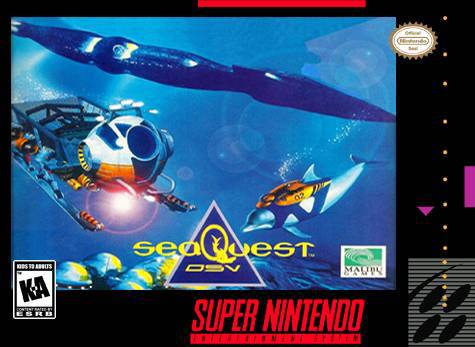 seaQuest DSV - Super Nintendo Entertainment System