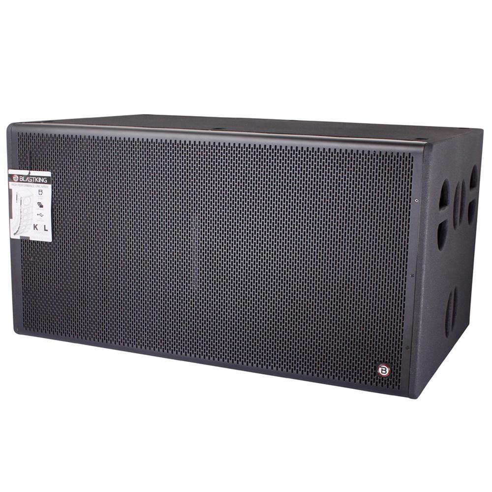 2x18 inch 3800 Watts Powered Hi-Performance Subwoofer