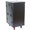 16U Vertical with 10U Slant Top Combo Rack