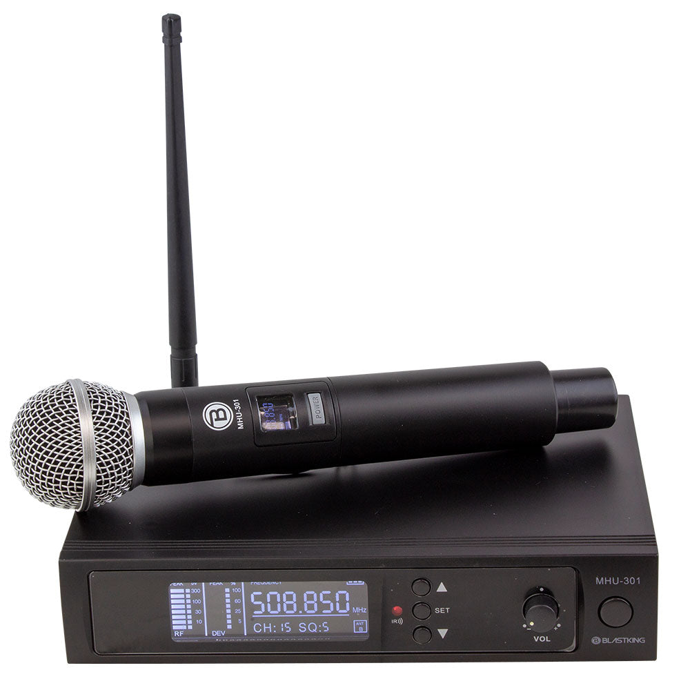 UHF DSP WIRELESS MICROPHONE SYSTEM - MHU-301