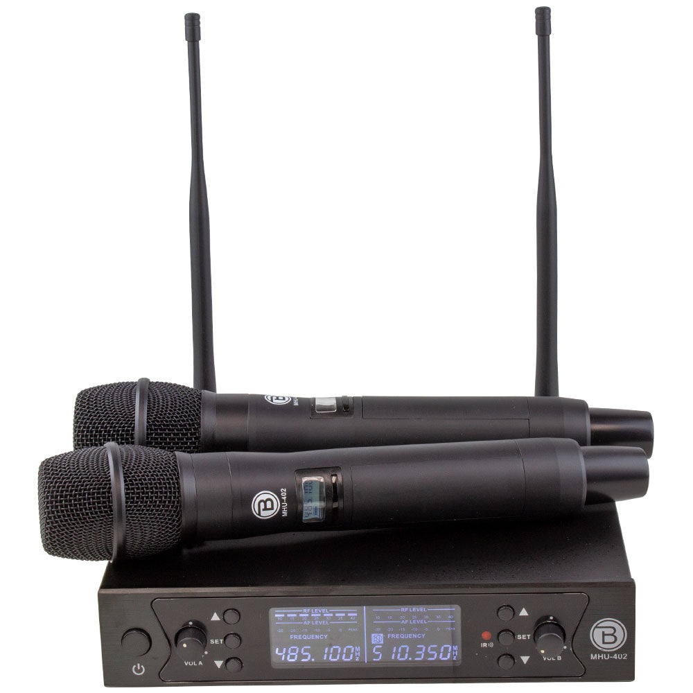 UHF DSP WIRELESS MICROPHONE SYSTEM - MHU-402