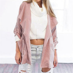 Waterfall Front Hooded Jacket
