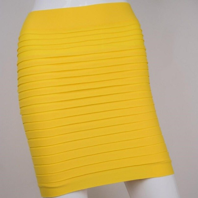 Ribbed Mini Skirt