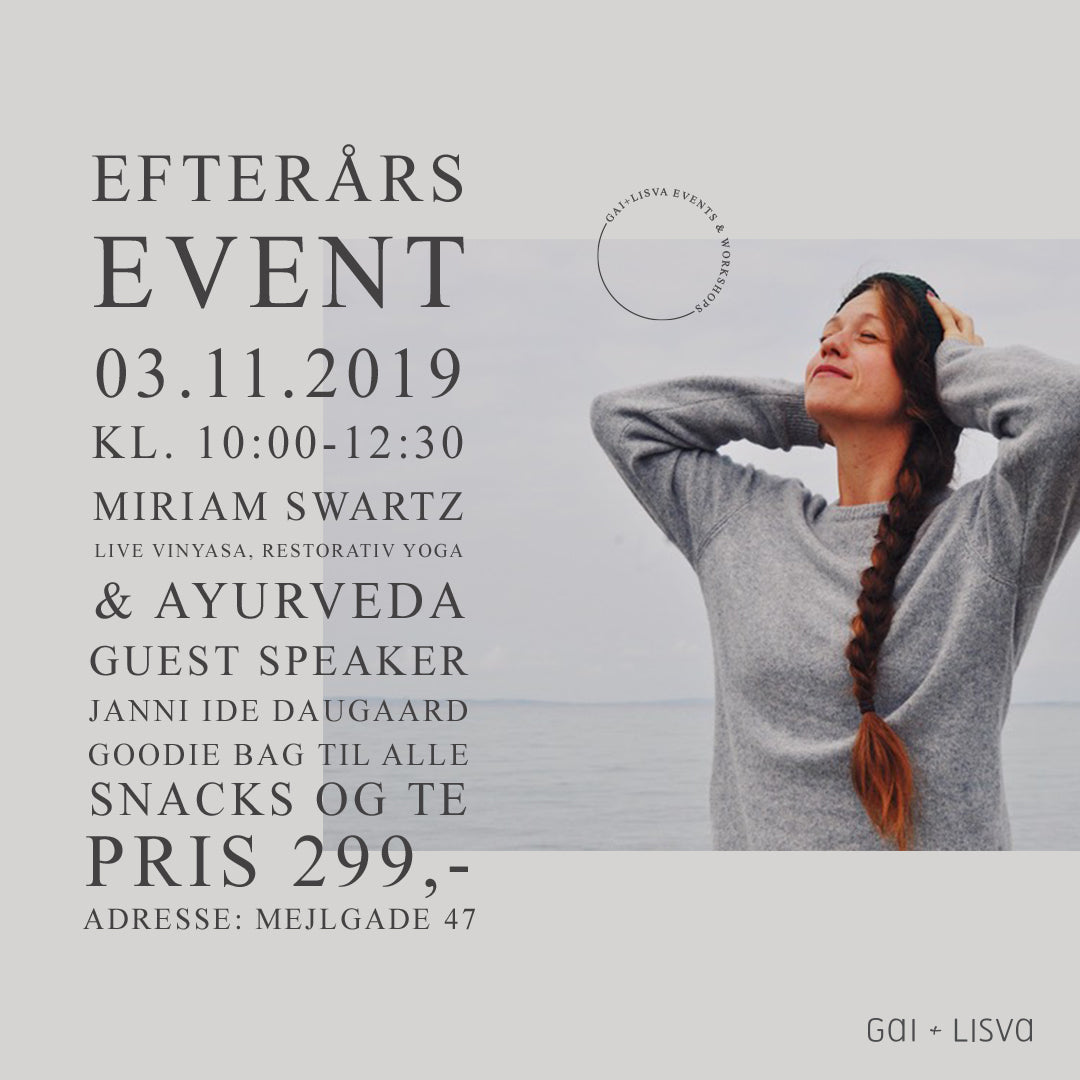 Fall event with Miriam Swartz
