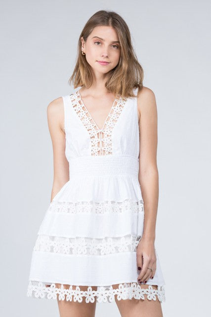 Daisies In The Sky Dress
