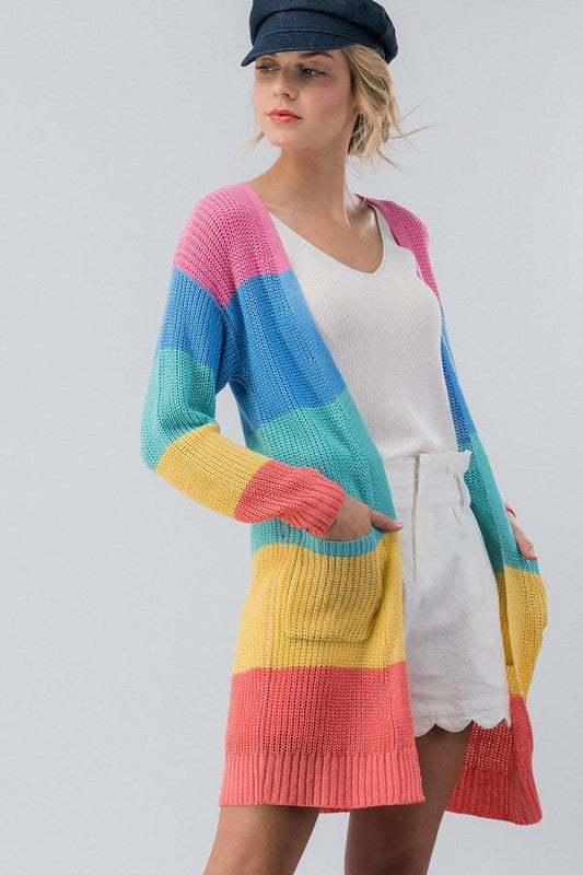 Colorful Cutie Cardigan