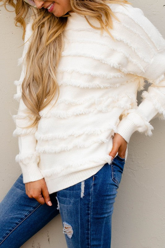 Fringe Binge Sweater