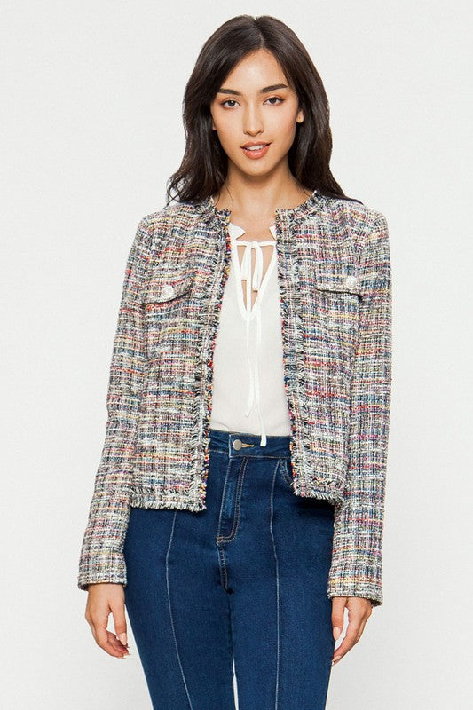 The Candice Tweed Jacket