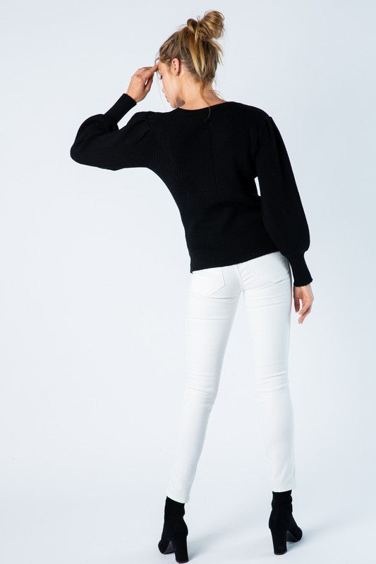The Margot Sweater Black