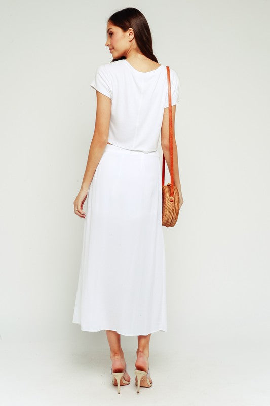 Walks on the Beach Skirt White