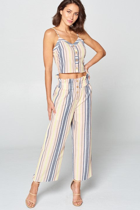 Pastel Perfection Striped Set