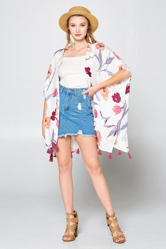 Take Your Breath Away Kimono