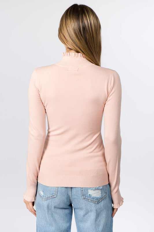 The Softest Touch Sweater Light Pink